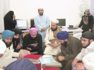 سکھ کمیونٹی کی آستانہ عالیہ پر آمد