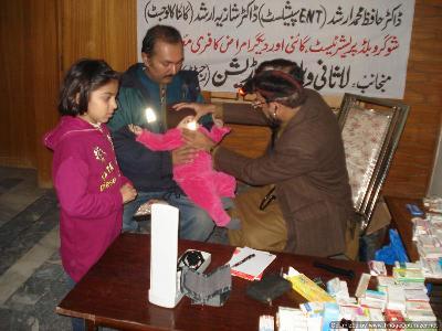 دھرم پورہ لاہور میں غریب اور مستحق افراد کیلئے میڈیکل کیمپ لگایا گیا