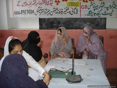 مراکہ گاؤں لاہور میں غریب اور مستحق افراد کیلئے میڈیکل کیمپ لگایا گیا