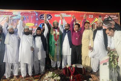 25 ویں سالانہ محفل ذکر و نعت و سماع ''فروغ امن و استحکام پاکستان مشائخ  و بین المذاہب امن اتحاد کنونشن2015