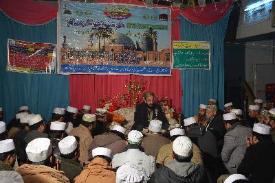 محفل ذکر و نعت بسلسلہ عرس مبارک سیدنا غوث الاعظم سرکار  بمقام آستانہ عالیہ لاثانی سرکار، فیصل آباد
